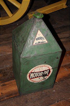MORRIS TEN GALLON OIL CAN - click to enlarge