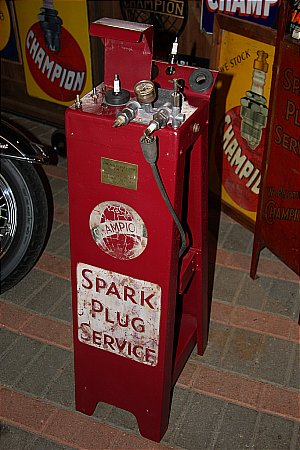 CHAMPION SPARK PLUG CLEANER - click to enlarge