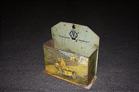 A.A. TIN LEAFLET HOLDER - click to enlarge