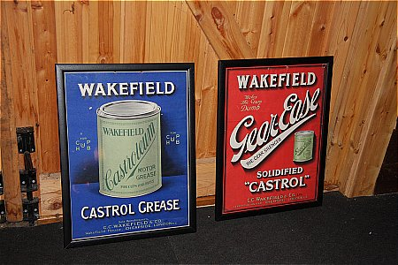 WAKEFIELD CASTROL CARD POSTERS. - click to enlarge