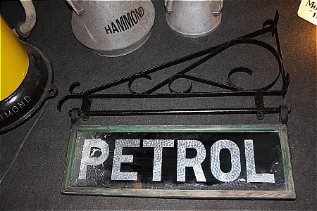 PETROL REFLECTIVE DOUBLE SIGN - click to enlarge