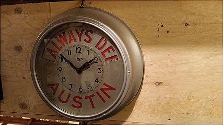 AUSTIN CLOCK - click to enlarge