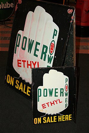 POWER ETHYL DOUBLE SIDED. - click to enlarge