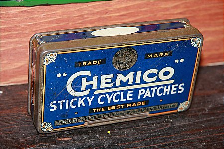 CHEMICO PATCHES - click to enlarge