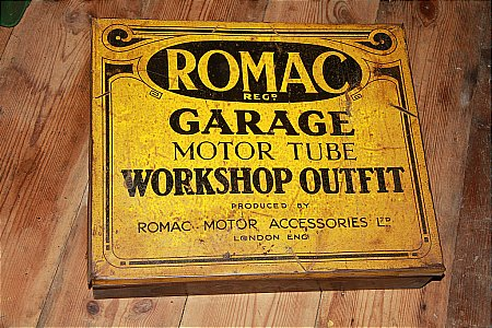 ROMAC GARAGE OUTFIT - click to enlarge