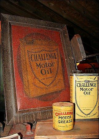 CHALLENGE MOTOR OIL - click to enlarge