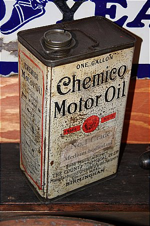 CHEMICO MOTOR OIL - click to enlarge