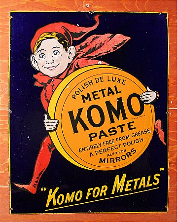 KOMO METAL PASTE - click to enlarge