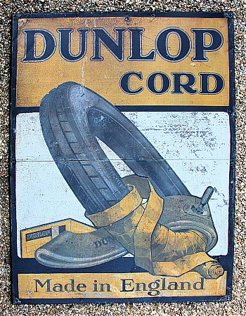 DUNLOP CORD TYRES. - click to enlarge
