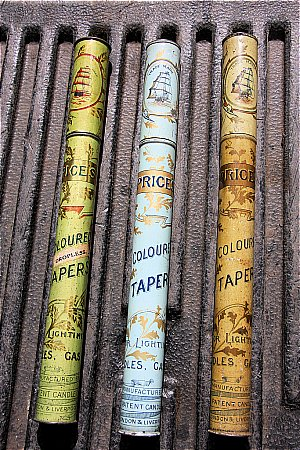 PRICES CANDLE TAPERS - click to enlarge
