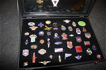 ENAMEL BADGE COLLECTION. - click to enlarge