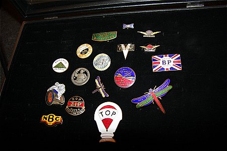 ENAMEL BADGE COLLECTION. (Part 2) - click to enlarge