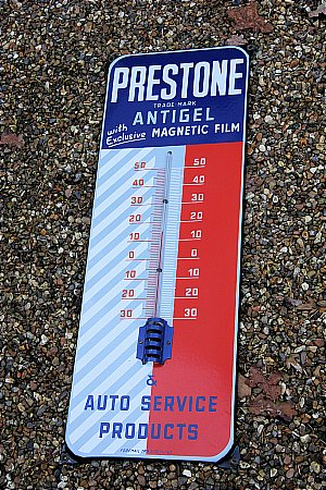 PRESTONE OIL THEMOMETER - click to enlarge