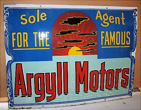 ARGYLL MOTORS - click to enlarge