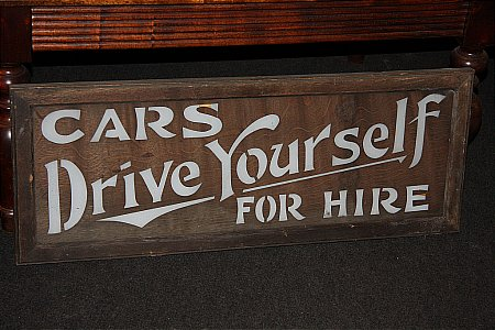 CARS FOR HIRE - click to enlarge