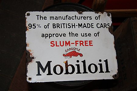 "MOBILOIL ""SLUM-FREE"" - click to enlarge"