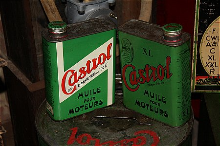 CASTROL FRENCH QUARTS - click to enlarge