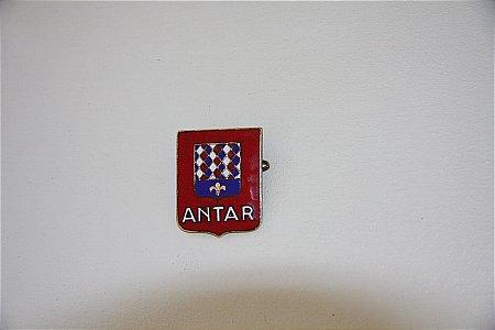 ANTAR ENAMEL BADGE - click to enlarge
