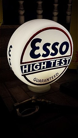 ESSO HIGH TEST LARGE GLOBE - click to enlarge