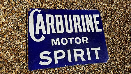 CARBURINE MOTOR SPIRIT - click to enlarge