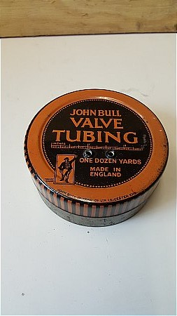 JOHN BULL VALVE TUBING - click to enlarge