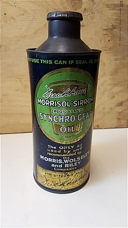 DUCKHAMS MORRISOL GEAR OIL - click to enlarge