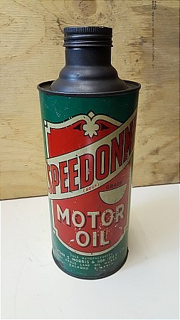 SPEEDONE MOTOR OIL - click to enlarge