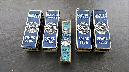 CHAMPION PLUGS BOXED - click to enlarge
