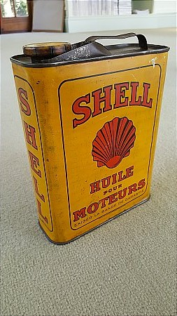 SHELL OIL QUART (FRENCH) - click to enlarge