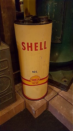 SHELL10 LITRE CAN - click to enlarge