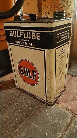 GULF 5LTR CAN - click to enlarge