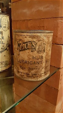 PRICES HUB LUBRICANT - click to enlarge
