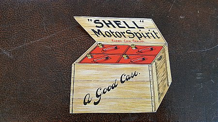 SHELL MOTOR SPIRIT CARD - click to enlarge