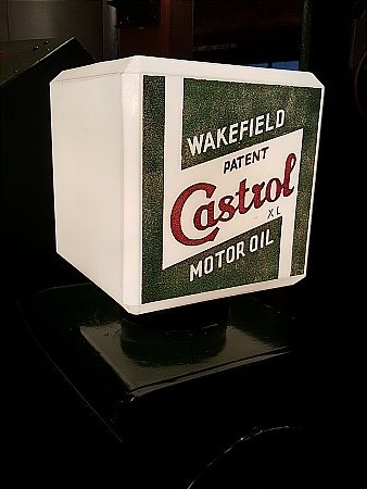 CASTROL WAKEFIELD XL OIL GLOBE - click to enlarge