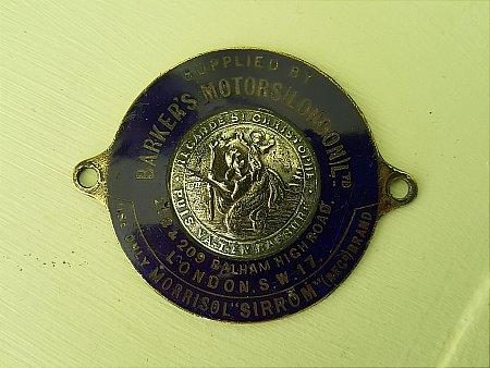 MORRISOL DASHBOARD BADGE - click to enlarge