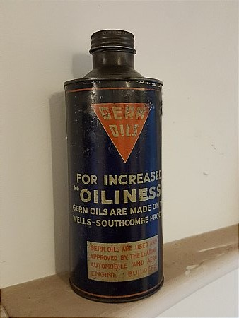 GERM OIL QUART - click to enlarge