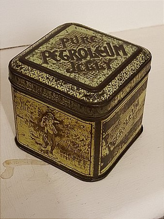 PETROLEUM JELLY TIN. - click to enlarge