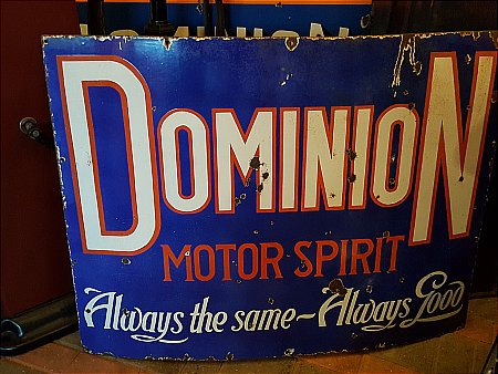 DOMINION MOTOR SPIRIT - click to enlarge