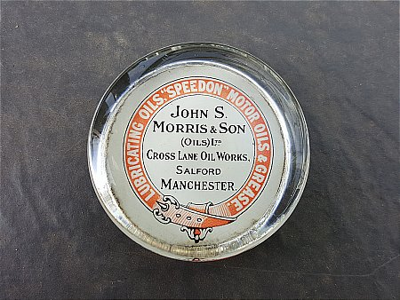 MORRIS & SONS PAPERWEIGHT - click to enlarge
