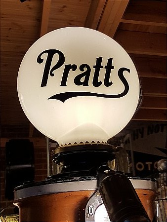 "PRATTS 16"" PILL GLOBE - click to enlarge"