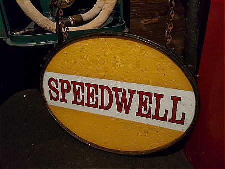 SPEEDWELL GLASS PANEL SIGN - click to enlarge