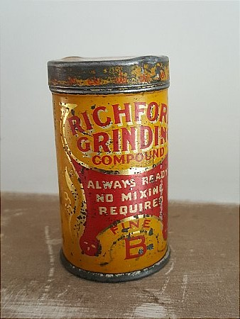 RICHFORD GRINDING COMPOUND - click to enlarge