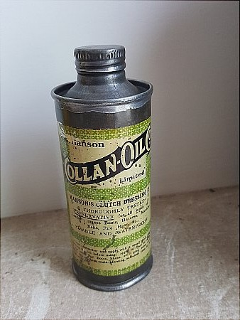 COLLAN OIL 1/4 pint - click to enlarge