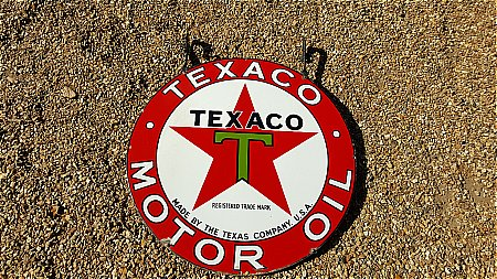 TEXACO OIL DOUBLE. - click to enlarge