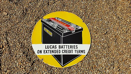 LUCAS BATTERIES - click to enlarge