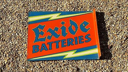 EXIDE BATTERIES - click to enlarge