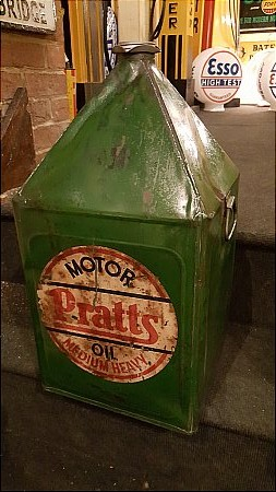 PRATT'S 5 GALLON CAN. - click to enlarge