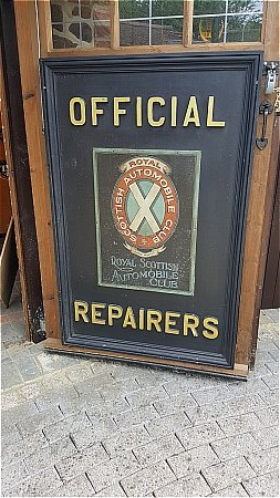 SCOTTISH AUTOMOBILE CLUB (OFFICIAL REPAIRERS) - click to enlarge