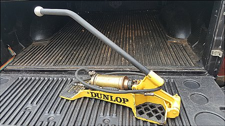 DUNLOP JUNIOR AIR PUMP - click to enlarge