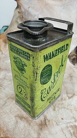 CASTROL WAKEFIELD CAN - click to enlarge